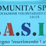 Comunità Speranza - Associazione di Volontariato Carcerario qui a Lecce da 35 anni