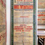 S'inaugura Mostra  dei manifesti antichi presso la Tipografia del Commercio
