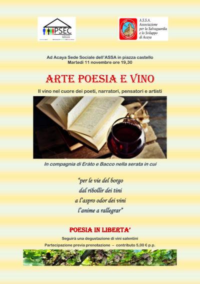 ARTE POESIA E VINO Il vino nel cuore dei poeti, narratori, pensatori e artisti