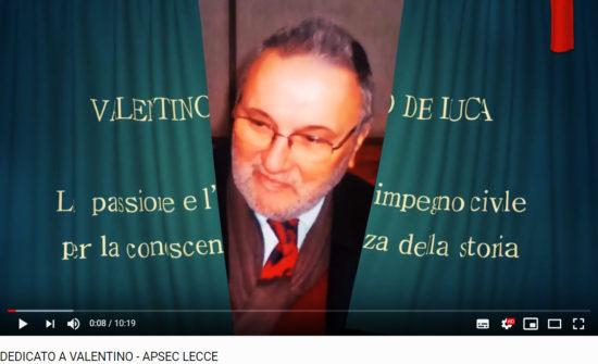 Dedicato a Valentino De Luca