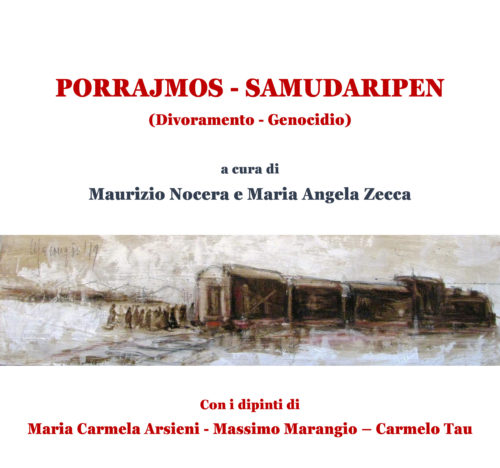Copertina libro sul genocidio dei Rom