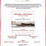 16 Febbraio presenteremo il nostro ultimo lavoro editoriale sul Genocidio dei Rom