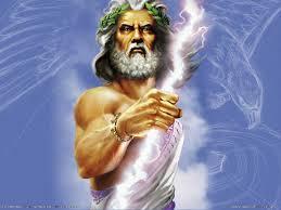 Giove Dio dell'Olimpo
