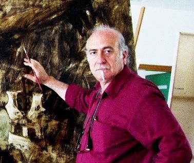 Il pittore Massimo Marangio