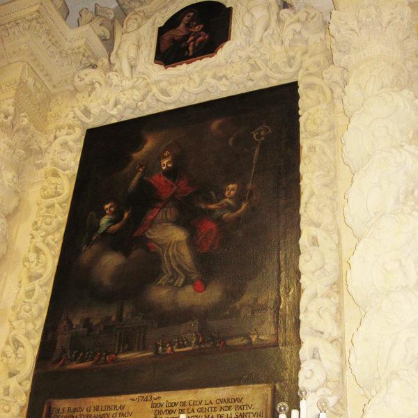 Quadro votivo di Sant'Oronzo - Foto di A. Turco