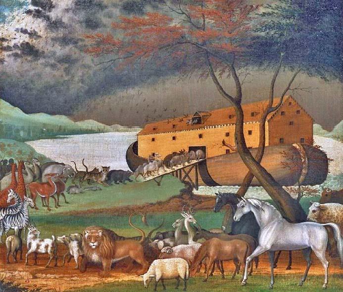 L'arca di Noè il Diluvio Universale