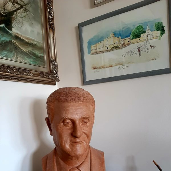 Busto di Egidio Caputo