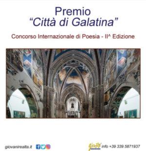 Premio Città di Galatina  Concorso Internazionale di Poesie