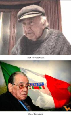 Ricordo di Salvatore Sicuro e Giovanni Giannoccolo Partigiani