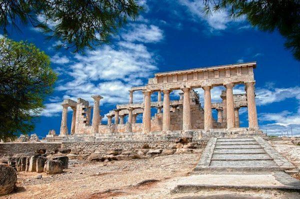 Il Tempio Di Aphaia Ad Aegina