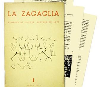 Copertina della rivista La Zagaglia