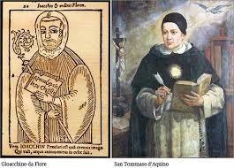 Gioacchino da Fiore e San Tommaso d'Aquino