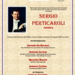 In ricordo di Sergio Perticaroli (pianista) il 30 agosto ad Acaya